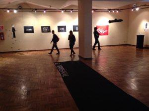 Una línea de polvo, Bienal Bolivia