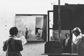 Jaime Ardila. Retrato de Juan Cardenas a la manera de Lee Friedlander. SF